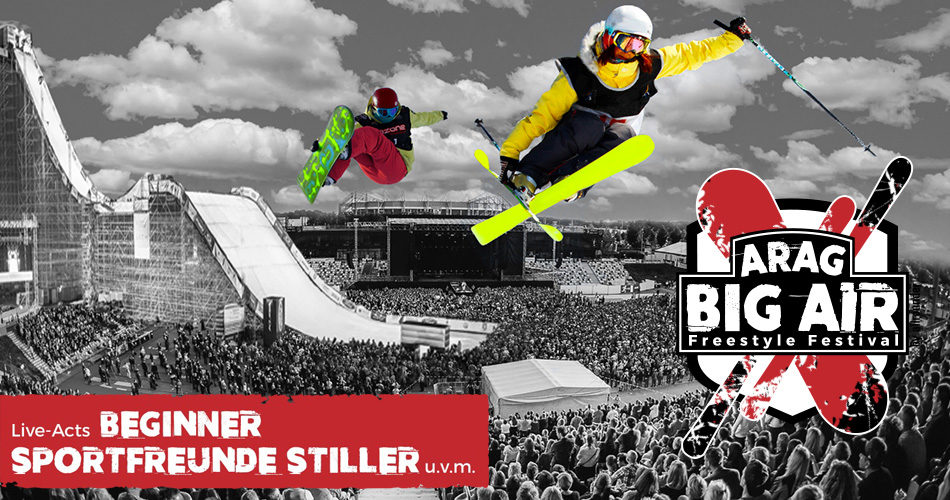 ARAG Big Air Freestyle, Europa-Premiere,  2. / 3.12.2016